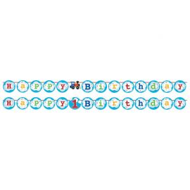 Festone Trenino con Stickers 210 cm