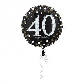 Palloncino Foil 40 anni Elegant 43 cm