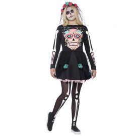 Costume da Sweetle Teschio dei Morti per Donna