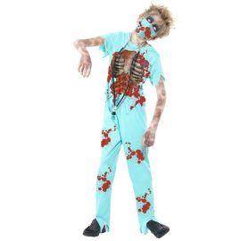 Costume da Medico Chirurgo Zombie per Bambino