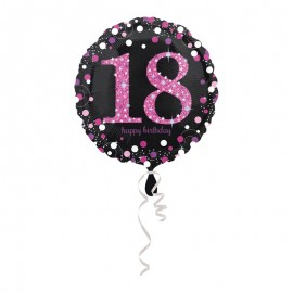 Palloncino Foil 18 Elegant Pink 43 cm