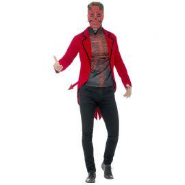 Disfraz de Diablo Rojo del Día de los Muertos