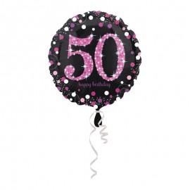 Palloncino Foil 50 Elegant Pink 43 cm