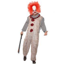 Costume da Pagliaccio Zombie Assassino per Uomo