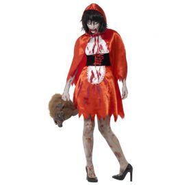 Disfraz de Caperucita Zombie para Mujer