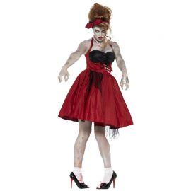 Costume da Zombie Anni 50 per Donna
