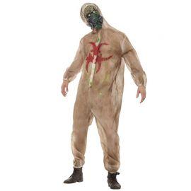 Disfraz de Riesgo Biológico Zombie para Hombre