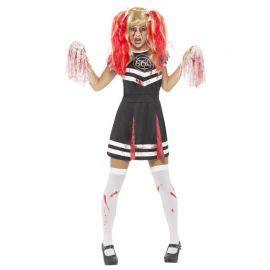 Costume da Cheerleader Diabolica per Donna