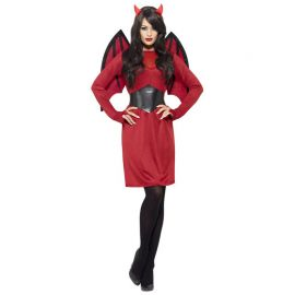 Costume da Diavolo con Ali per Donna