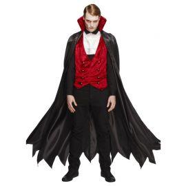 Costume da Vampiro con Gilet per Uomo