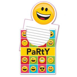 8 Inviti Emoticons