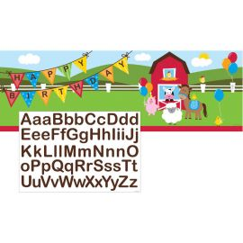 Banner Personalizzabile Farmhouse