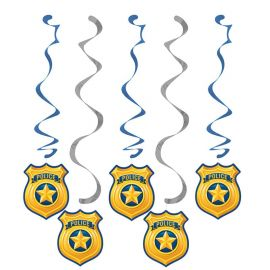 5 Pendenti Polizia
