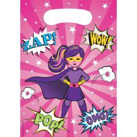 8 Borse Supereroe Bambina