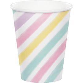 8 Bicchieri Unicorno Sparkle 266 ml