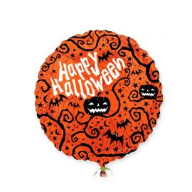 Palloncino Zucche Happy Halloween
