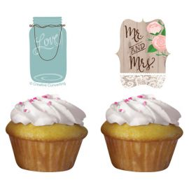 Kit per Cupcakes Rustic Wedding