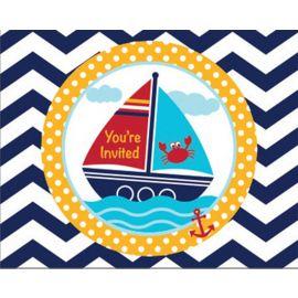 8 Inviti Ahoy Matey