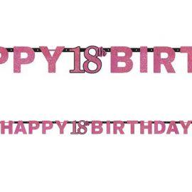 Festone Happy 18 Elegant Pink