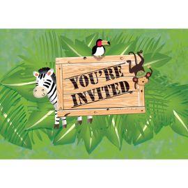 8 Inviti Safari