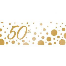 Banner 50 Anniversario 50.8 x 152 cm