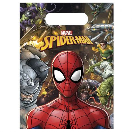 6 Sacchetti Spiderman Home Coming