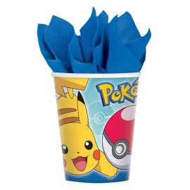 8 Bicchieri Pokemon 266 ml