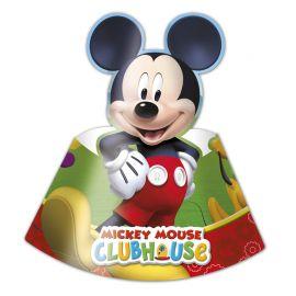 6 Cappelli di carta Mickey Mouse