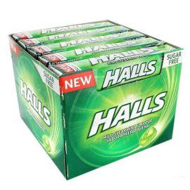 Scatola Halls alla Menta Senza Zucchero 20 Pz