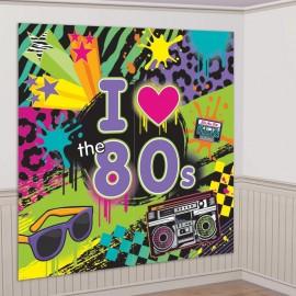 Sfondo Festa a tema anni 80