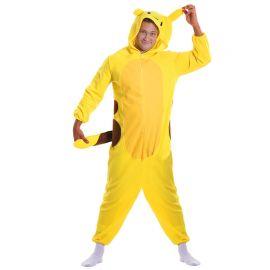 Costume Pigiama da Cincillà per Adulto Elettrico