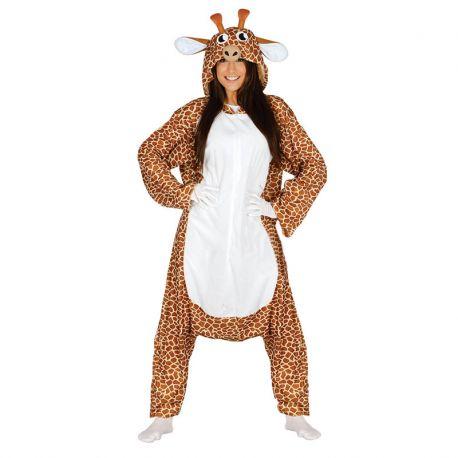 97105a1f09 Costume Pigiama da Giraffa per Adulto Tuta Larga