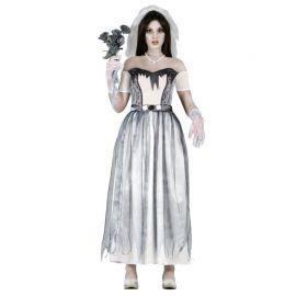 Disfraz de Novia Fantasma de Mujer combinación Negra