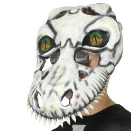 Maschera di Cranio T-Rex Terrificante