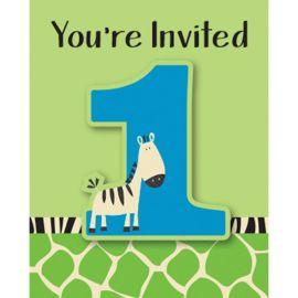 8 Inviti Primo Anno Zebra