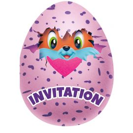 8 Inviti Hatchimals