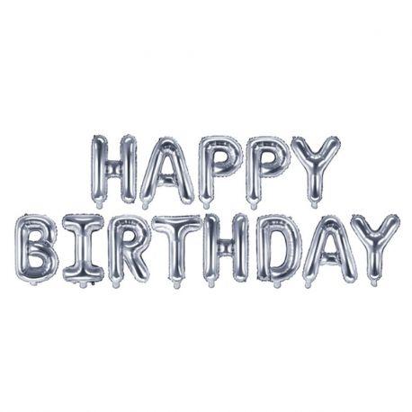Palloncini Happy Birthday da 35 cm