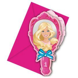 6 Inviti Barbie
