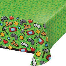 Tovaglia Videogiochi di Plastica 137 cm x 259 cm