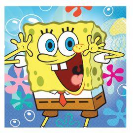 20 Tovaglioli Spongebob 33 cm