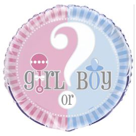 Palloncino Foil Gender Reveal 46 cm