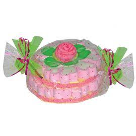 Torta di Marshmallow con Rosa