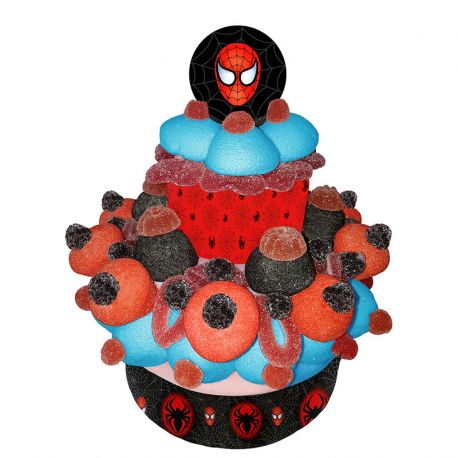 Torta di Caramelle di Spiderman