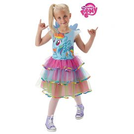 Costume di My Little Pony Rainbow Bambina