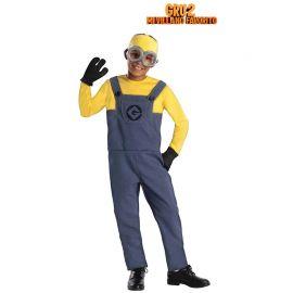 Costume da Minion con Guanti per Bimbo