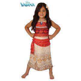 Costume Oceania di Vaiana con Collana Bambina