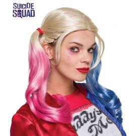 Peluca de Harley Quinn Bicolor