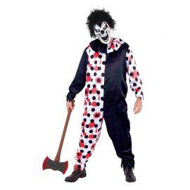 Costume da Giullare Satanico per Uomo