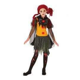 Disfraz de Zombie Clown Girl Adolescentes
