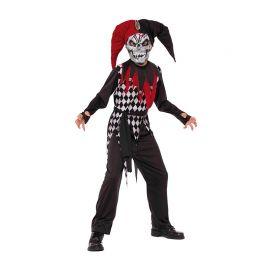 Disfraz Bufón Malvado para Niños